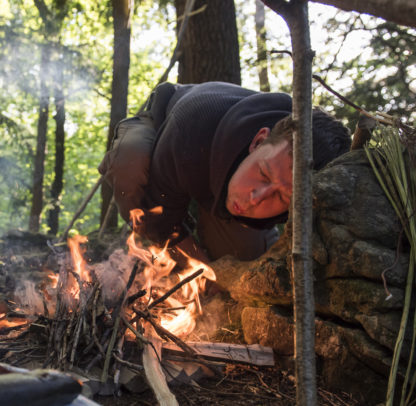 Native Bushcraft course - fire lighting
