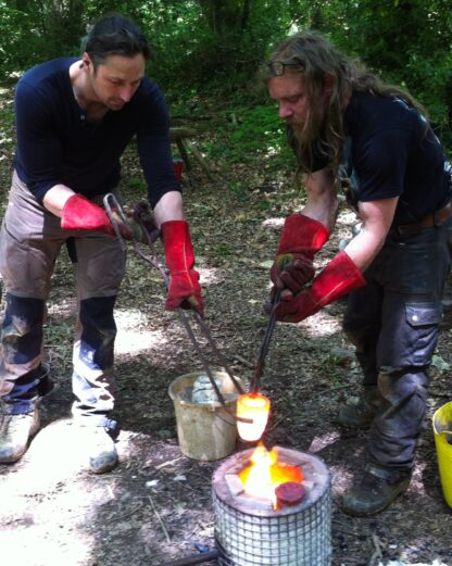 Will Lord & Ben McNutt bronze knife making
