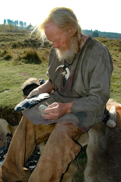 John Lord master flint knapper