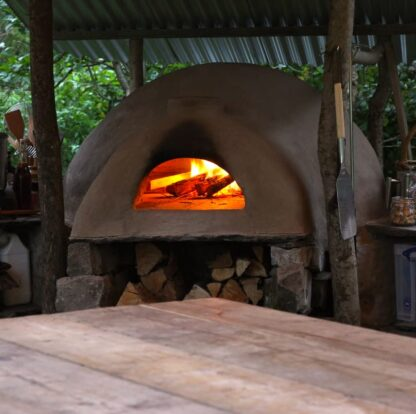 earthen clay oven